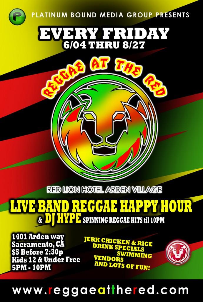 Reggae at the RED v2
