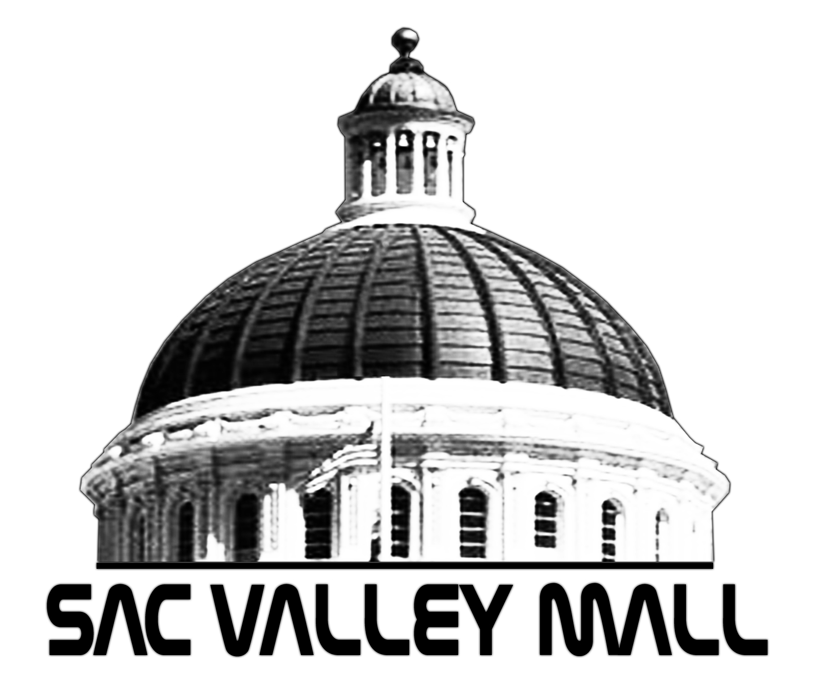 Sac Valley Mall Logo Design