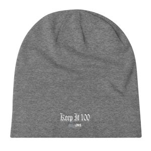RuleOne – Keep it 100 / Knit Slouch Beanie